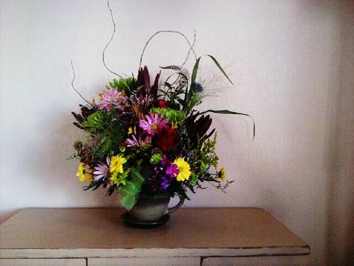 Flores, Que Me Envió Mi Esposo