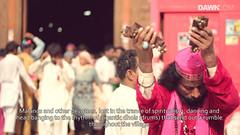 Urs at Sehwan (Short Documentary) Stills (M.Omair) Tags: blue pakistan art night canon sharif video artistic islam pray documentary mosque malang devotees karachi omair masjid islamic lal dua shareef 550d shahbaz sehwan qalandar faqeer virgomair imomair wwwimomaircom