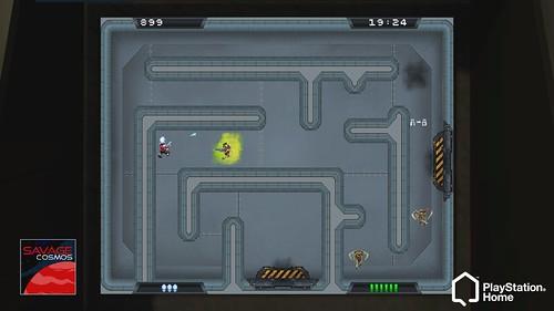 PlayStation Home: Scribble Shooter Vs  Savage Cosmos