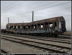 Trgico final para el T2 (Jess Pozo) Tags: railway estacion railways malaga t2 gl ferrocarril renfe quemado ffcc apartado rautatie bobadilla cochet2