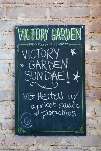 Victory Garden Sundae