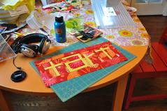 The Last Word (JulieFrick) Tags: word play quilt bee block tart 36 onescrappybee 60blocksofsummer