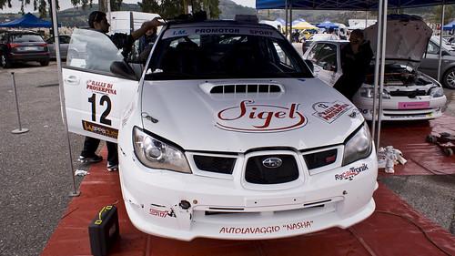 Umberto Lunardi e Anna Ranno | Subaru Impreza N4 | 25° Rally Proserpina 2010