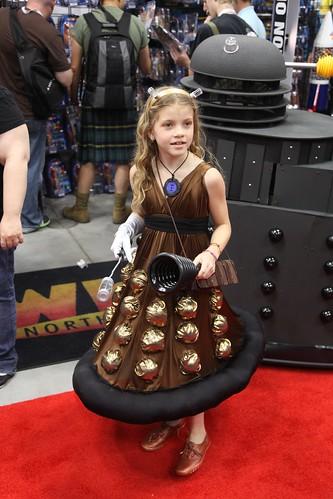 Finished Dalek Dress