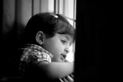 Ritaj ♥B&W (Saleh Mohammed) Tags: bw girl canon children eos mohammed saleh محمد بنت d600 صالح طفل وأسود ابيض بنوته طفله