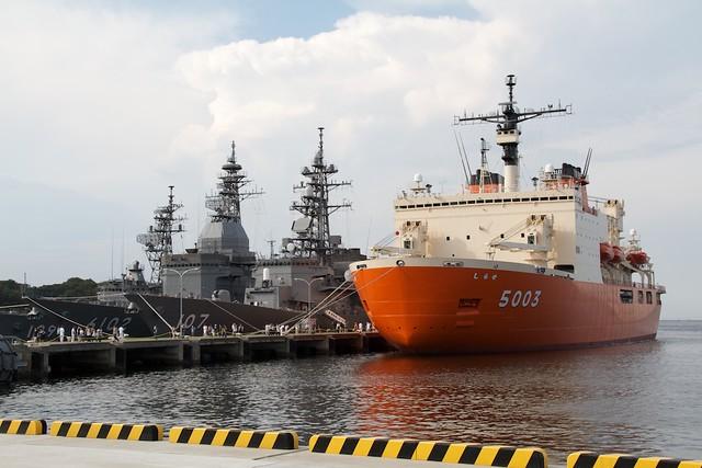 海上自衛隊 南極観測船しらせ