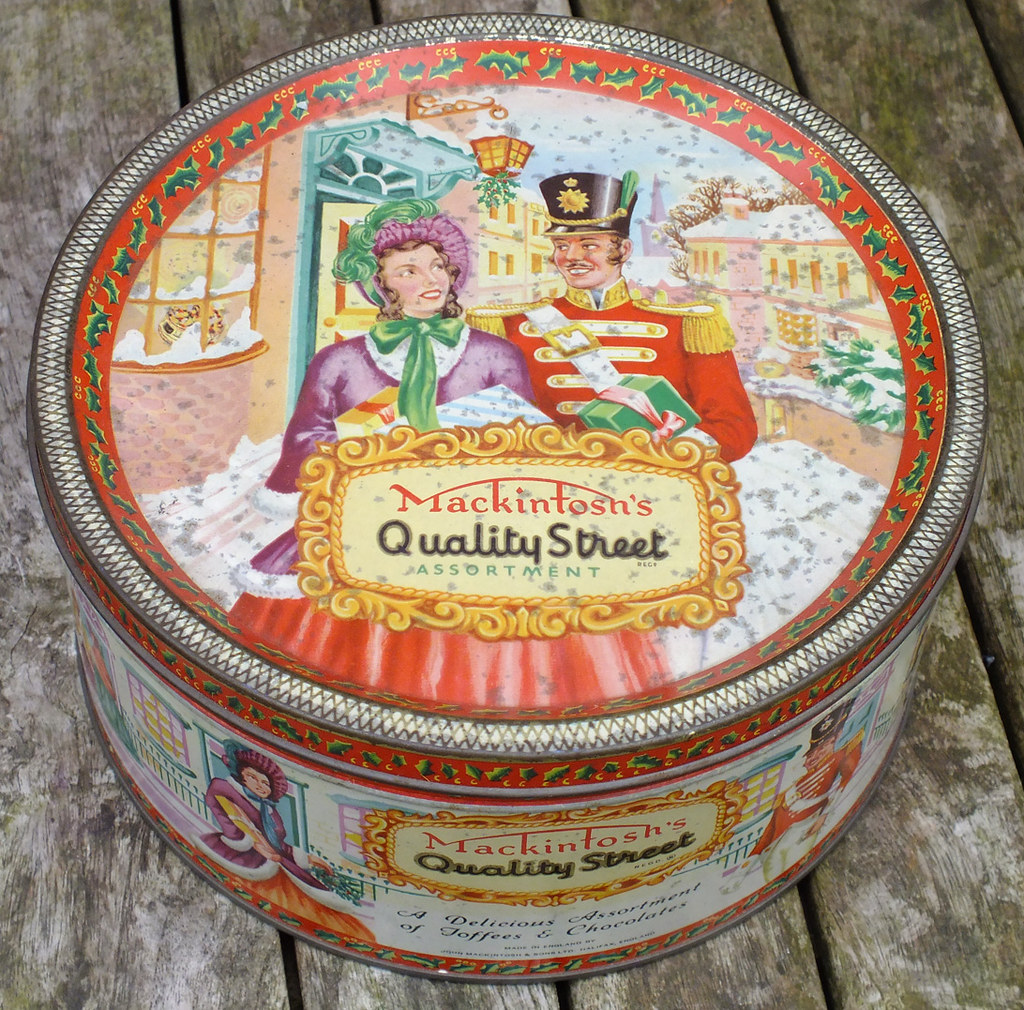 Quality Street Christmas Tin