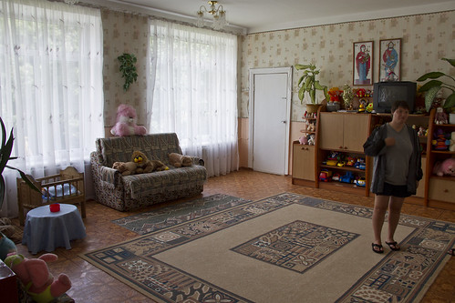 Khmelnitsky orphanage living room 2011