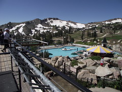 pool (rundixie) Tags: usa mountain america tahoe running run squawvalley runners olympics mountainrun 2000ft