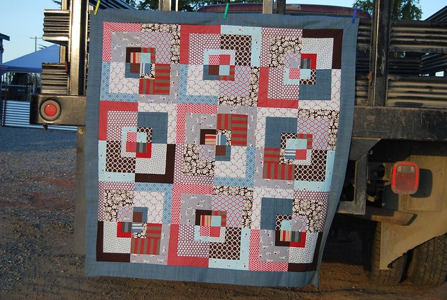 If it's a boy quilt top