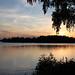 Swedish summer sunset