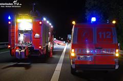Verkehrsunfall A66 Schiersteiner Kreuz 30.08.11