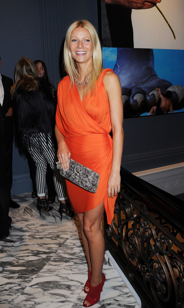 Dinner in honour of Gwyneth Paltrow, hosted by Coach at The Arts Club, Mayfair, London, Britain - 6 Sep 2011