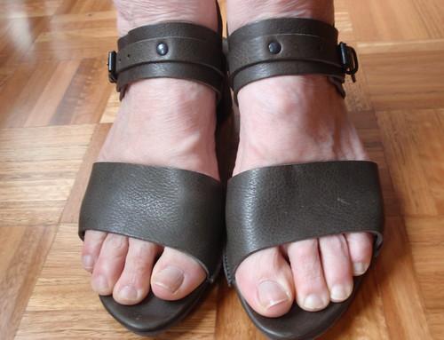 trippen sandals front