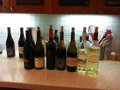 Wine tasting for Cal & Rebecca's wedding