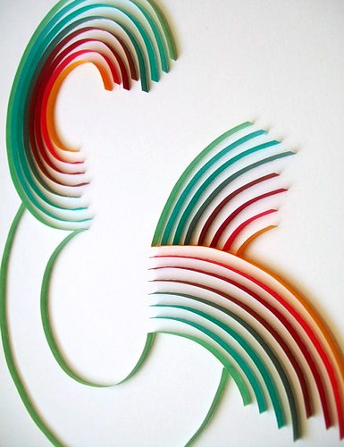 paper crafts and art: quilled wall art by melissa van hoose