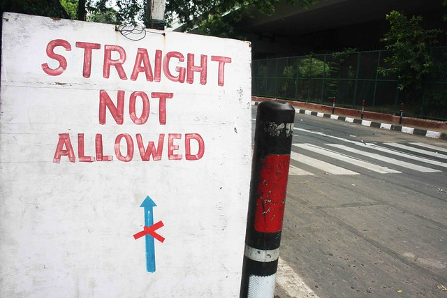Being Straight Is Not a Crime