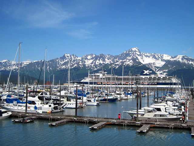 Seward AK harbor 20110624