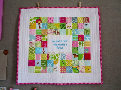 Urban Home Goods :: mini quilt