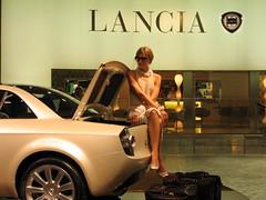 italian elegance (BZK2011) Tags: lady elegant dame coupe lancia mondän
