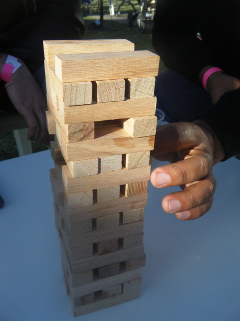 Jenga in the Park