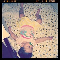 Sleeps like a baby