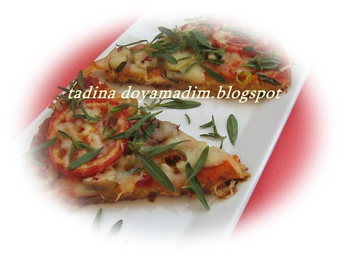 taze kekikli karışık pizza