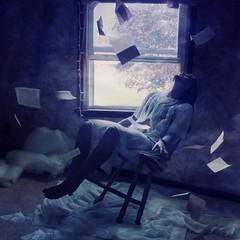 inception (londonscene) Tags: new york girl canon paper rebel book flying bedroom magic dreaming falling 365 xs tonawanda inception