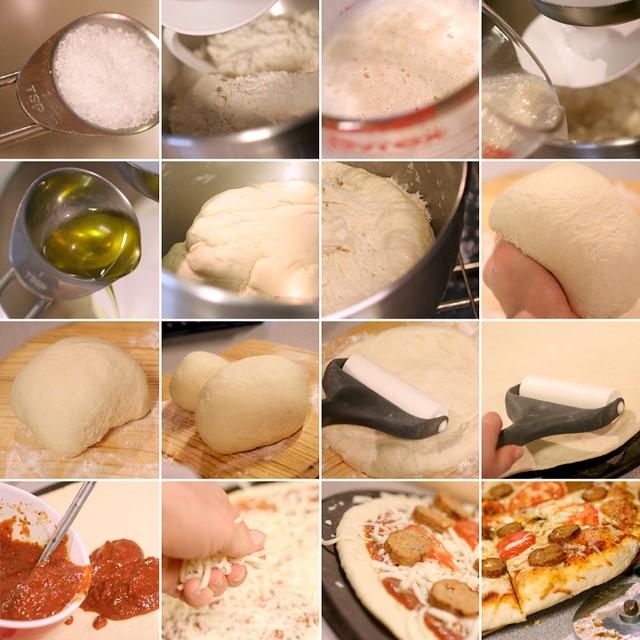 Thin And Crispy Pizza Crust
