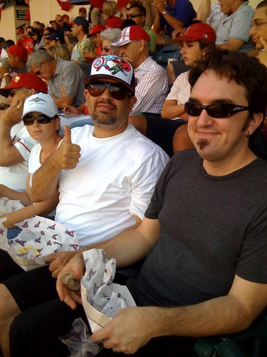 At the Angels/Dodgers game