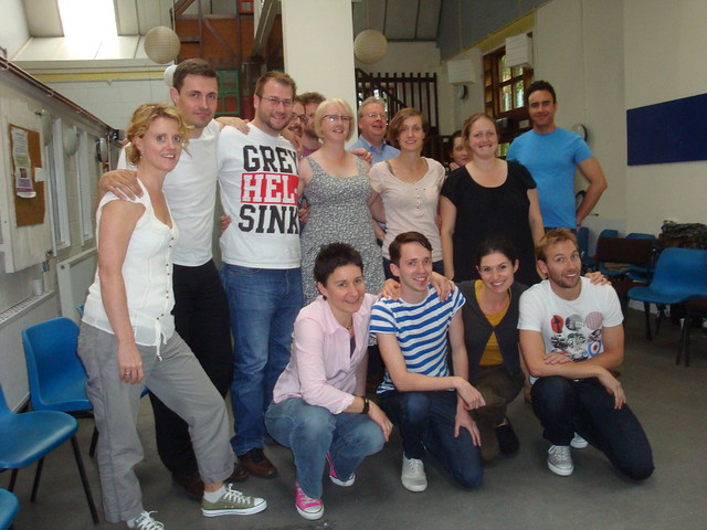 Impro workshop the group