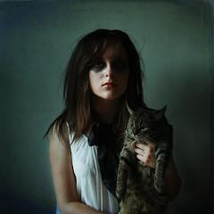 independance day (londonscene) Tags: new york girl cat canon rebel zombie meow 365 xs butters tonawanda