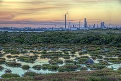 Williamstown wetlands (J-C-M) Tags: nikon australia melbourne victoria williamstown wetlands d200 refinery hdr altona foreshore petroleum