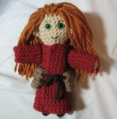 Mage plushie - work in progress