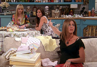 Baby shower dans la série Friends