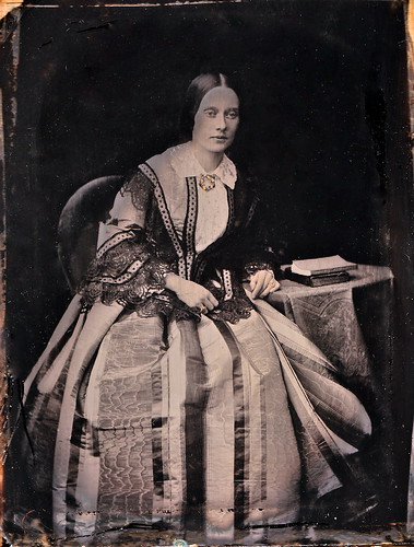 The Ideal Woman, English 1/4-Plate Ambrotype, Circa 1853 by lisby1