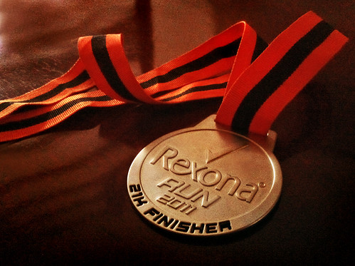 21Km Finisher's Medal