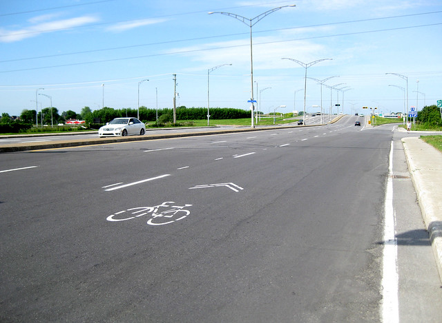 Laval cycling infrastructure