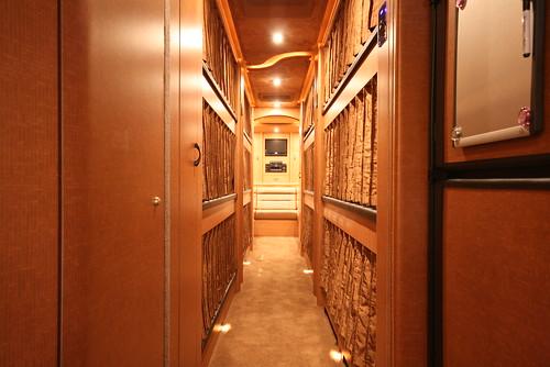 Broadway LTD - Bunk Hallway - facing Rear Lounge