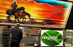 recycOil Fuels Willie Nelson's Fleet (recycOilRMSE) Tags: elitches yellowgrease rmse recycoil wastecookingoil recycoilbiodiesel sustainablebiodieselalliance coloradocleanenergy
