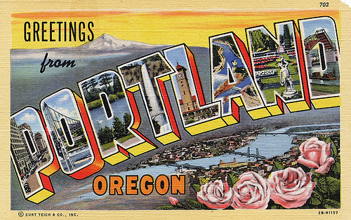 Postcard Portland