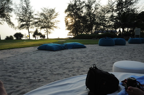 Sunset @ Mai Khao beach.