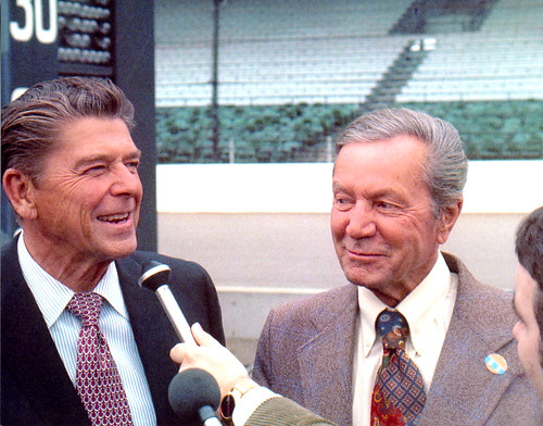 Hulman and Reagan in '76