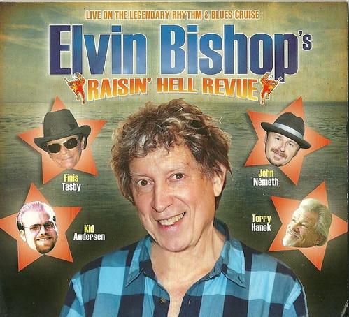 Elvin Bishop Raisin Hell Revue Cover