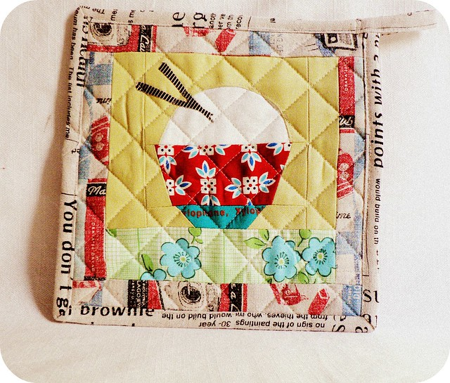 Rice Bowl Potholder.