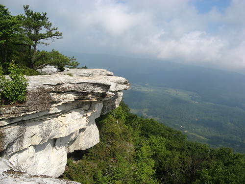 Outcrop at McAfee Knob