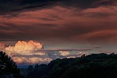 Like glowing iron! (KF-Photo) Tags: iron sonnenuntergang wolken colored glowing stimmung abendstimmung glhend glhen nachtstimmung kirchentellinsfurt farbverfremdung glhendeseisen
