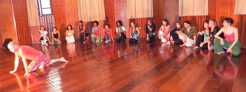 Jairo iniciando sua performance by Silvana Abreu