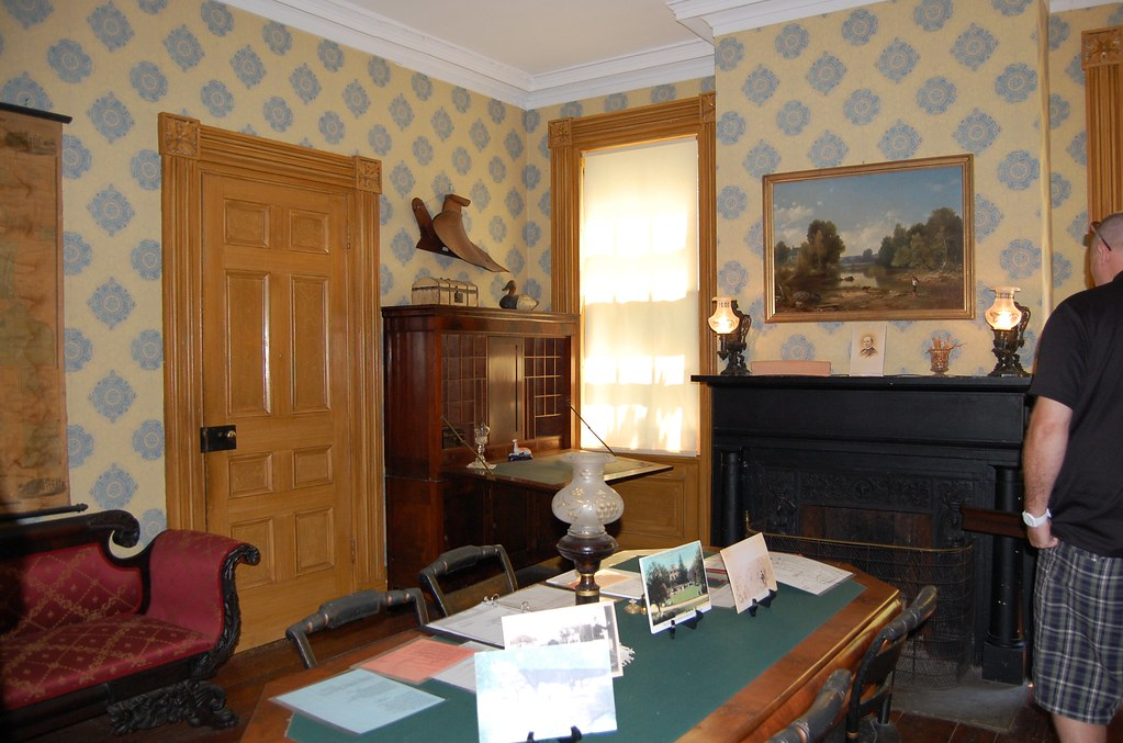 Rose Hill  Mansion - The  Office - Geneva