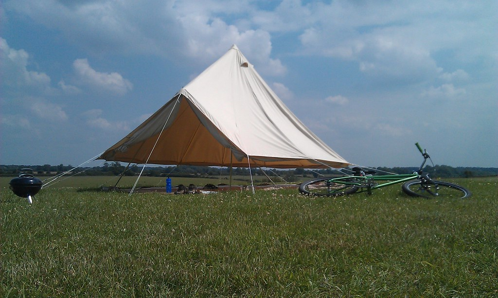 Posted 6 years ago & Talk to me about Bell Tents u2013 Singletrack Magazine